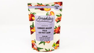 CBD Peach Fruit Chews Product Image