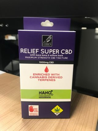 Relief Super CBD Product Image