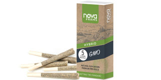5 Pack GMO Preroll Product Image