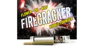 Phat Panda Firecracker Tropical Space Queen Infused Pre-Roll 1g Product Image