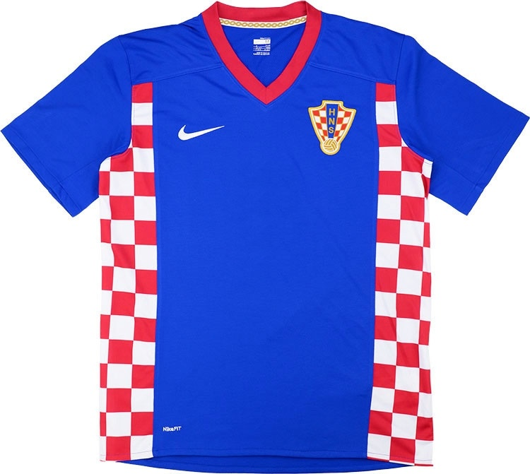 2007-09 Croatia Away Shirt
