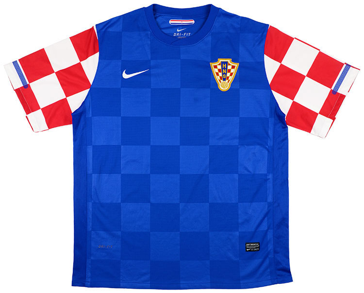 2010-12 Croatia Away Shirt