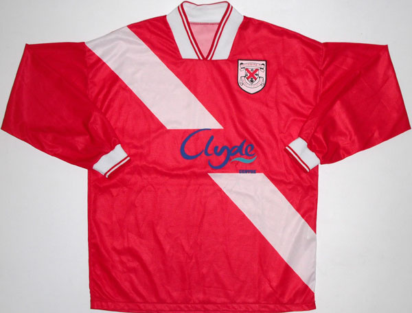 2003-04 Clydebank Away Shirt