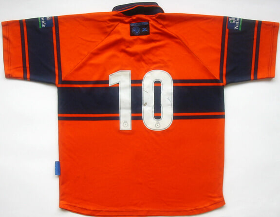 1999-00 Reading Player Issue Away Shirt #10