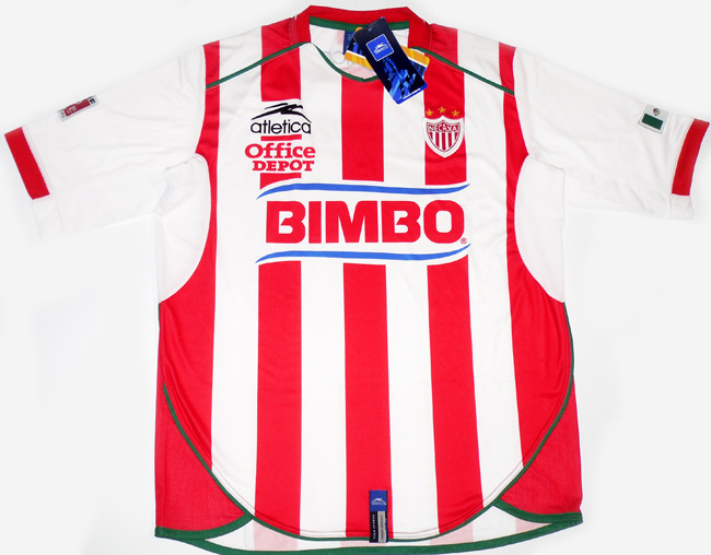 2004-05 Necaxa Home Shirt