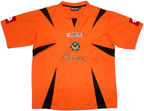 2009-10 Newport County Home Shirt