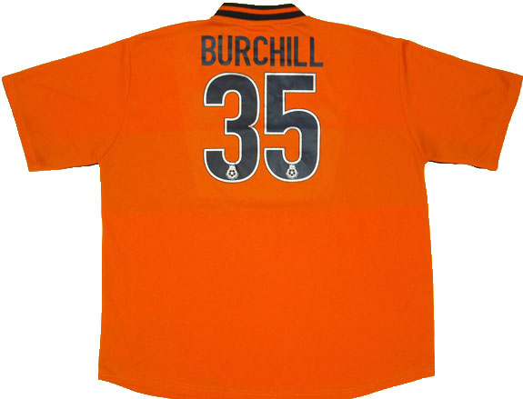 2001-02 Portsmouth Third Shirt Burchill #35