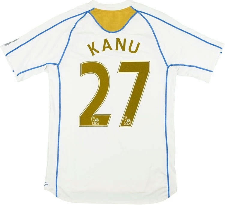2007-08 Portsmouth Away Shirt Kanu #27