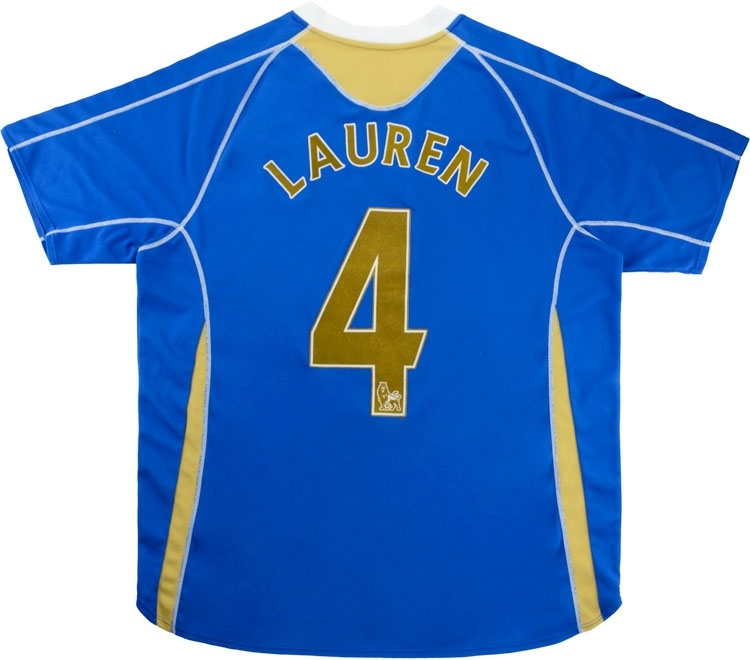 2007-08 Portsmouth Home Shirt Lauren #4
