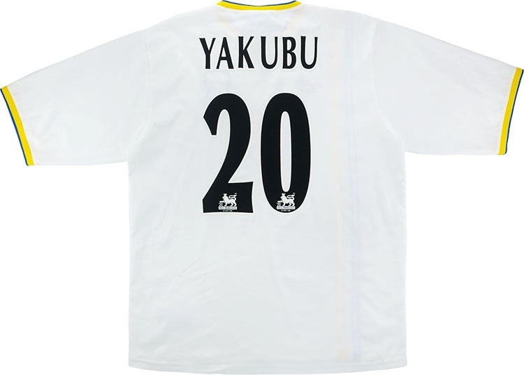 2004-05 Portsmouth Third Shirt Yakubu #20