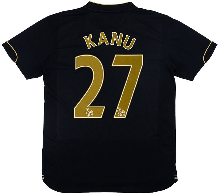2007-08 Portsmouth Third Shirt Kanu #27