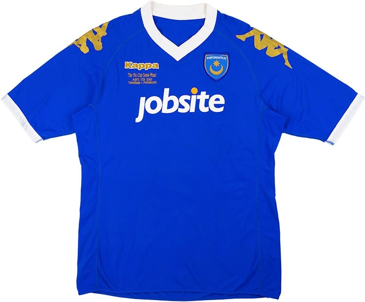 2010-11 Portsmouth 'FA Cup Semi-Final' Home Shirt