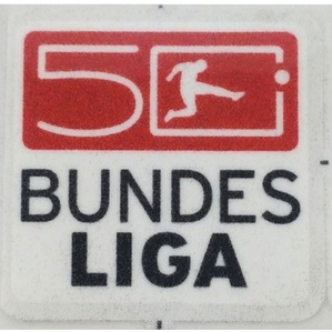 2012-13 Bundesliga 50th Anniversary Lextra Player Issue Patch