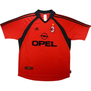 2001-02 AC Milan Third Shirt (Excellent) XL