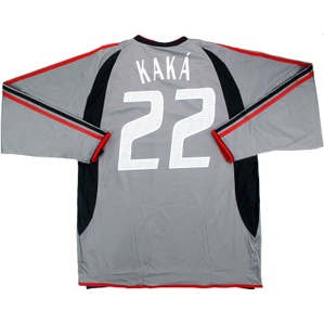 2003-04 AC Milan Player Issue Third L/S Shirt Kaká #22 *w/Tags*