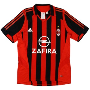 2005-06 AC Milan Home Shirt (Good) XL