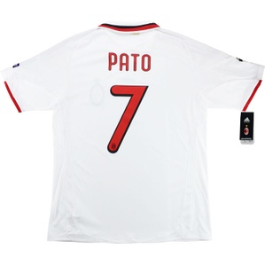 2009-10 AC Milan Player Issue CL Away Shirt Pato #7 *w/Tags* XL