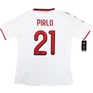 2009-10 AC Milan Player Issue CL Away Shirt Pirlo #21 *w/Tags* XL