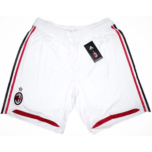 2009-10 AC Milan Player Issue Home/Away Shorts *BNIB* XL