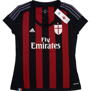 2015-16 AC Milan Home Shirt *BNIB* Womens