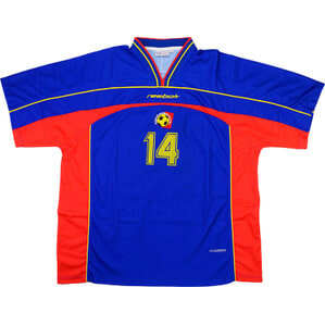 2001 Andorra Match Issue Away Shirt #14 (v Holland)
