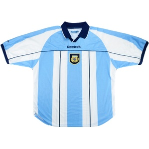 2000-01 Argentina Home Shirt (Very Good) XL