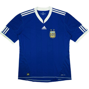 2010-11 Argentina Away Shirt (Very Good) M
