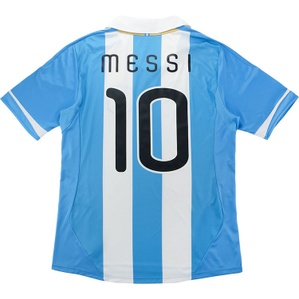 2011-13 Argentina Home Shirt Messi #10 (Excellent) XL