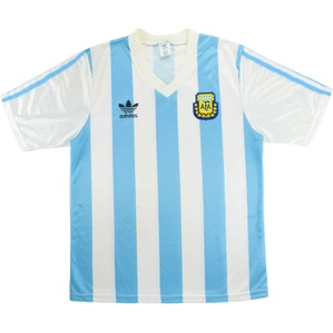 1990-91 Argentina Home Shirt (Very Good) M