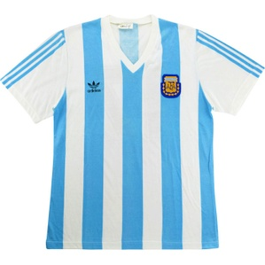 1991 Argentina Match Issue Home Shirt #17