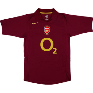 2005-06 Arsenal Home Shirt (Excellent) XL