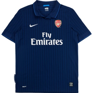 2009-10 Arsenal Away Shirt (Excellent) XL.Boys