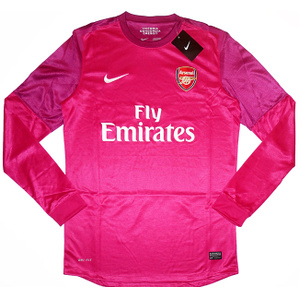 2012-13 Arsenal Player Issue European GK Away Shirt *w/Tags* XXL
