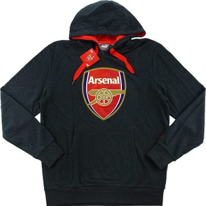2015-16 Arsenal Puma Fan Crest Hooded Top *BNIB*