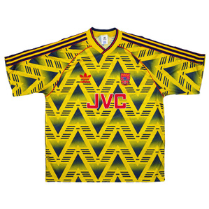 1991-93 Arsenal Away Shirt (Excellent) S