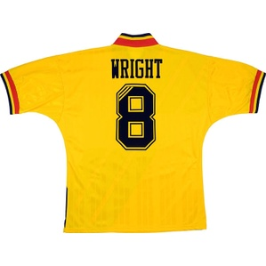 1993-94 Arsenal Away Shirt Wright #8 (Excellent) L/XL
