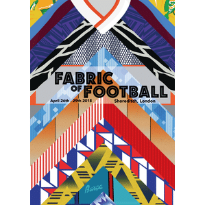 Fabric of Football London Tour Poster (A1)