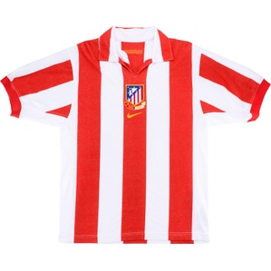 2003-04 Atletico Madrid Centenary Home Shirt (Very Good) XXL