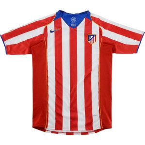 2004-05 Atletico Madrid Home Shirt (Very Good) XL.Boys