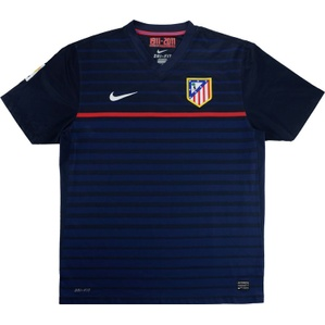 2011-12 Atletico Madrid Away (Excellent) L