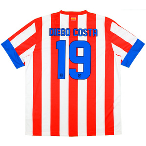 2012-13 Atletico Madrid Home Shirt Diego Costa #19 *w/Tags* XL