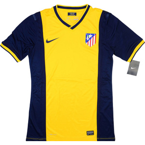 2013-15 Atletico Madrid Player Issue Away Shirt *BNIB* M