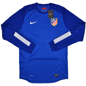 2013-14 Atletico Madrid Player Issue GK Blue Shirt *BNIB*