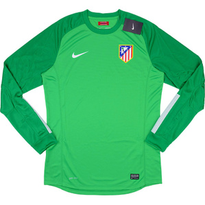 2013-14 Atletico Madrid Player Issue GK Green Shirt *BNIB*