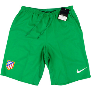 2013-14 Atletico Madrid Player Issue GK Green Shorts *BNIB*