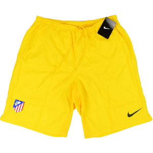 2013-14 Atletico Madrid Player Issue GK Yellow Shorts *BNIB*