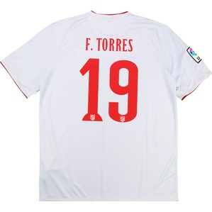 2014-15 Atletico Madrid Away Shirt F.Torres #19 *w/Tags*