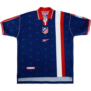1998-99 Atletico Madrid Away Shirt (Excellent) XL