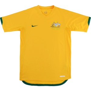 2006-08 Australia Home Shirt (Good) L