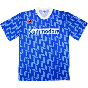 1992-93 Auxerre Match Issue UEFA Cup Away Shirt #4 (Verlaat)